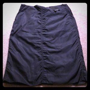 💯 authentic Yves Saint Laurent black silk skirt 6